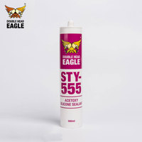 Professional High Efficiency Dry Fast One Part Adhesive Acetoxy Silicone Sealant