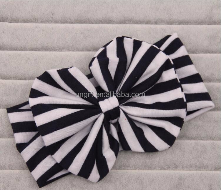 Mom and Me Matching Turban Headband For Hair Accessories Fashion Stripe Headband Mommy and Baby Topknot Headband Set