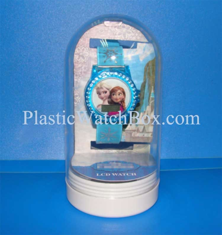 Wholesale High Quality Transparent Plastic Packaging Clear Plastic Watch Box