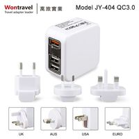 2018 New product 5V 3.5A universal power adapter CE ROHS approved,world dual USB charger adapter / travel power adapter