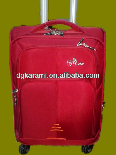 3 pcs set nylon trolley suitcase, travel luggage and bag factory 2014