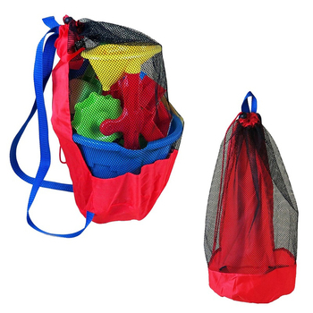 Swimming Mesh Equipment Bag Big Mesh Backpack Swim Bags for Swimmers Drawstring Boys Swim Bag