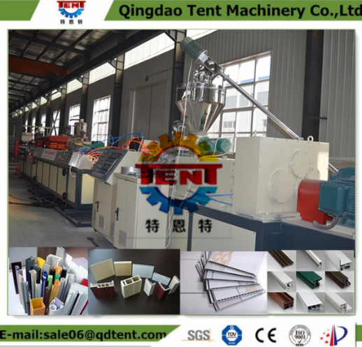 wpc plastic lumber decking profiles machine for PP / PE WOOD-PLASTIC