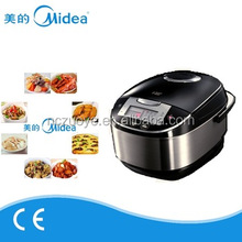 Cooking time magic presetting rice cooker with non-stick coating