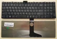 Russian Layout Black Wired Laptop Keyboard for Toshiba Satellite c650 c655