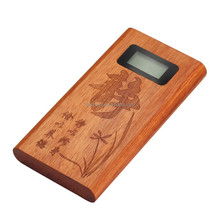 wood case 5200 mAh power bank innovative products for children , lady, man, import