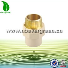 PVC/CPVC male Insert Brass Adapter