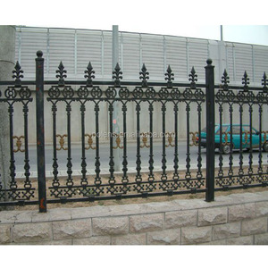 wrought iron estate fencing,accessories spear iron fence
