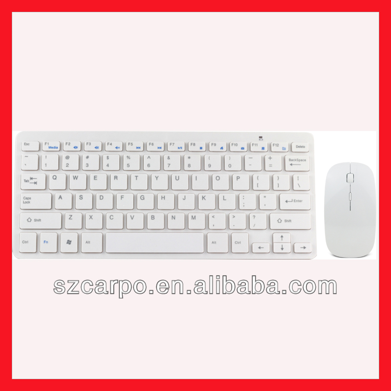 New gadgets 2014 mini wireless keyboard and mouse for ipad business/exhibition/gift H286