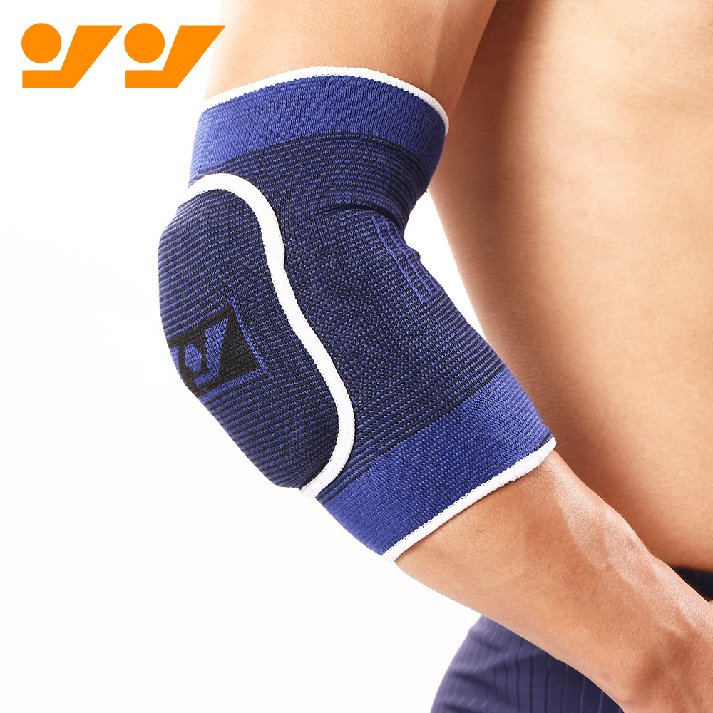 Compression bamboo Basketball elbow support/pad for support