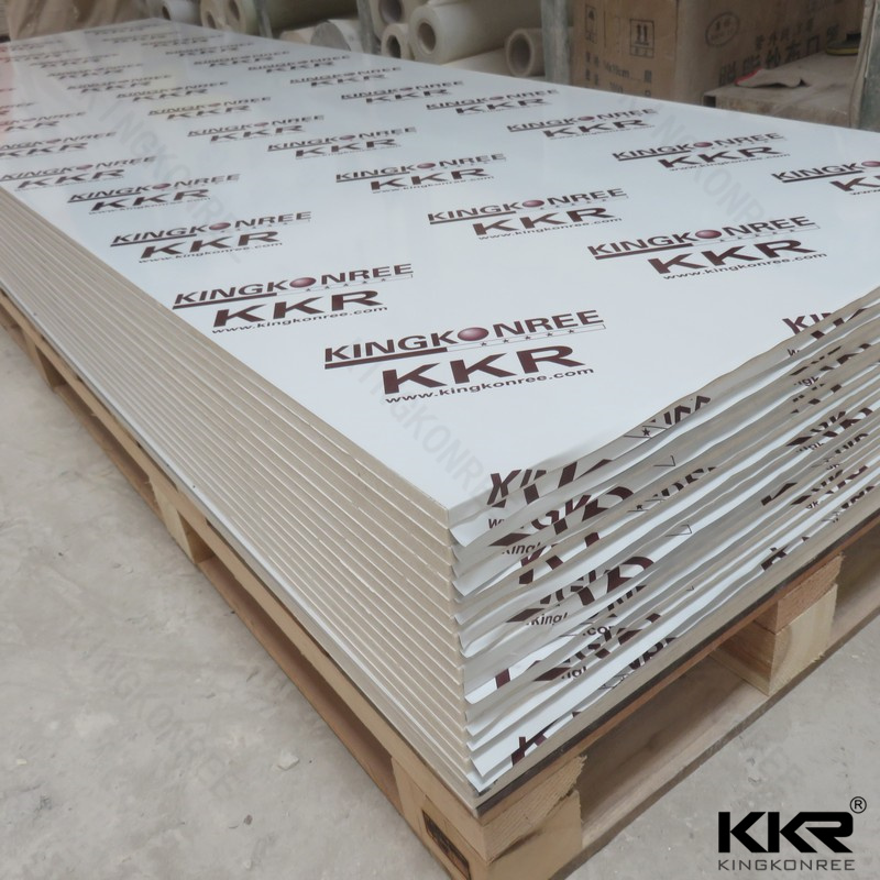 Countertop material solid surface acrylic slab for furniture