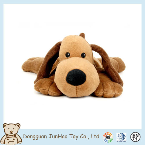 Eco-friendly Super Soft Boa Brown Plush Dog Small Animal Stuffed Toys for Children