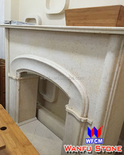 China cheap indoor used marble fireplaces for sale