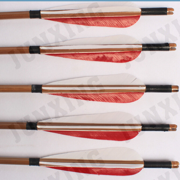 Arrow Type and Bamboo Shaft Material hunters arrows