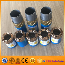 Premium quality BQ impregnated diamond core drill bit/BQ reaming shell for geology exploitation