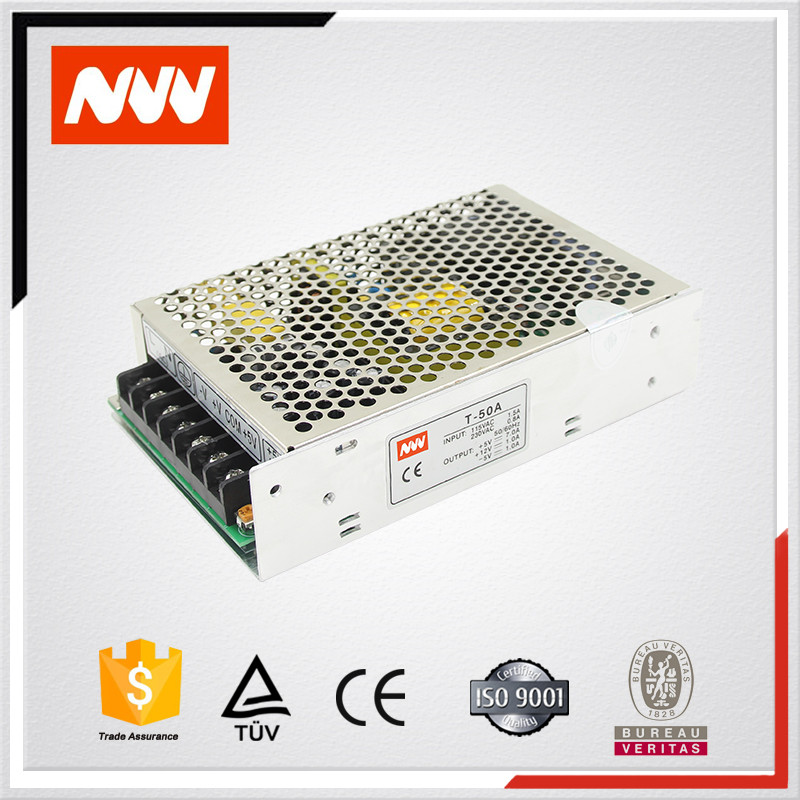 60W 5v 15v -15v led driver,T-60 Constant Voltage power supply ,switch power supply with short circuit protection
