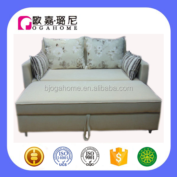 S2177 OGAHOME Metal Stick Support Cheap Sofa Bed