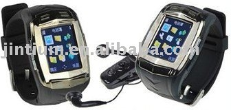 Pinhole camera Quadband watch phone --- 007+