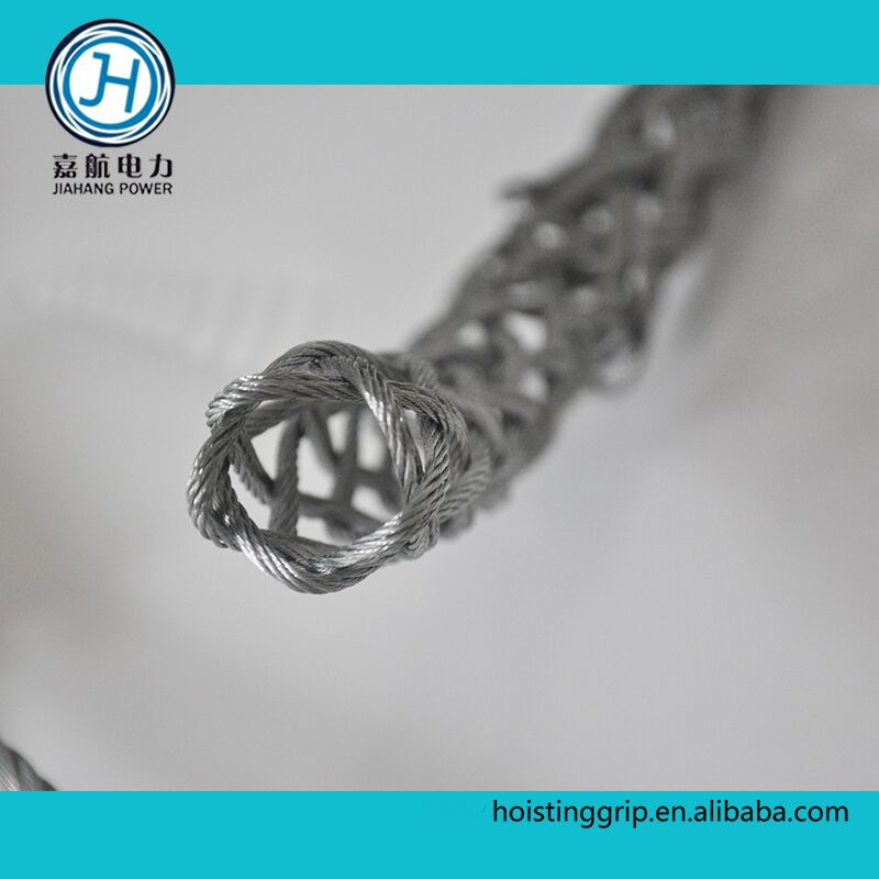 Cable pulling grip of single eye Of Galvanized steel