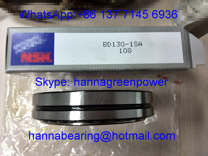 BD130-1SA / BD130-1 SA Excavator Bearing ; BD 130-1 SA Angular Contact Ball Bearing 130x166x34mm