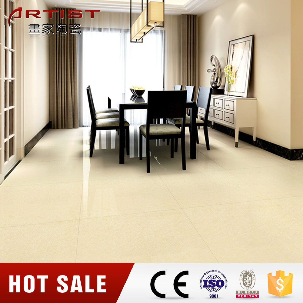 Polishing ceramic tiles