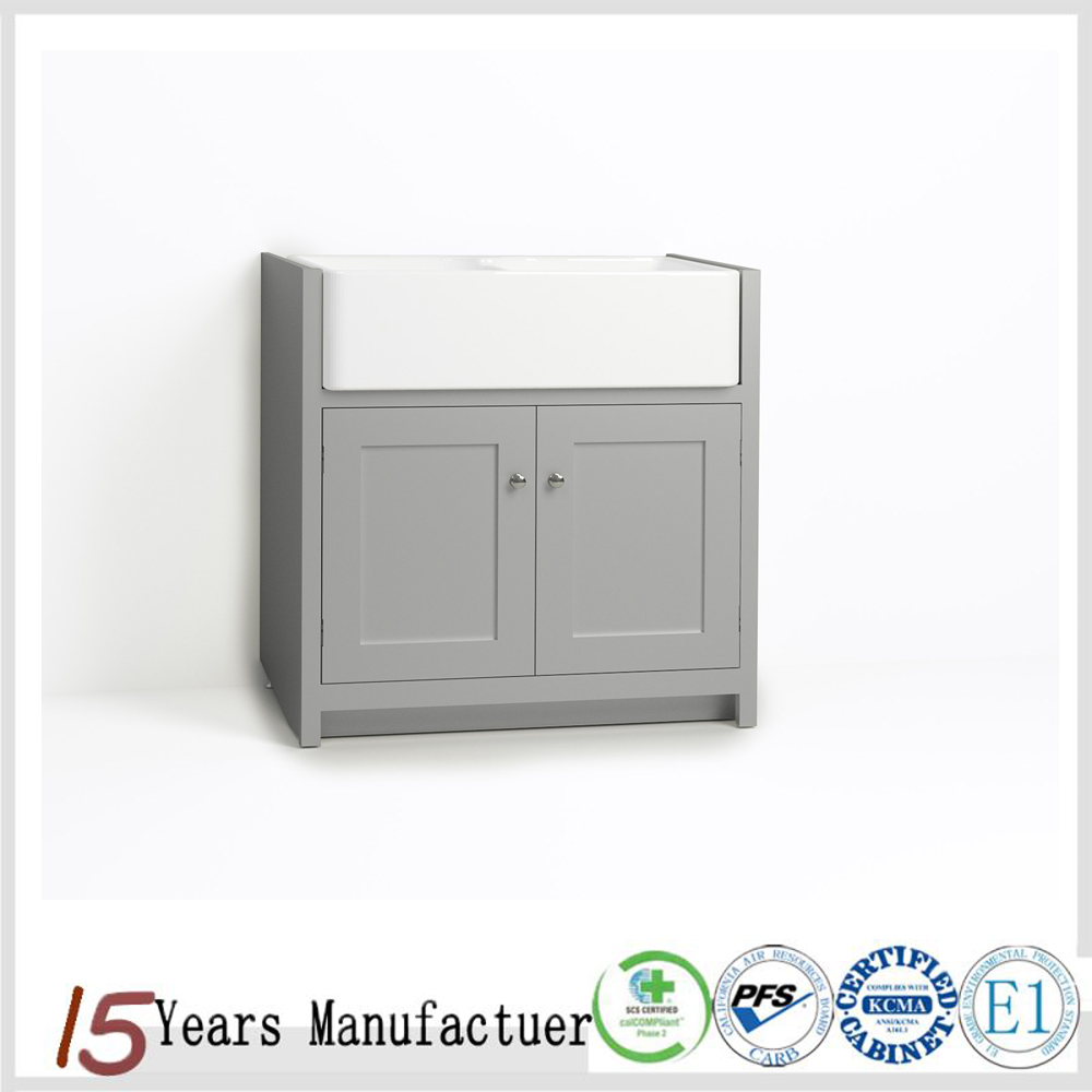 American RTA 24 Inch Bathroom Vanity With Sink
