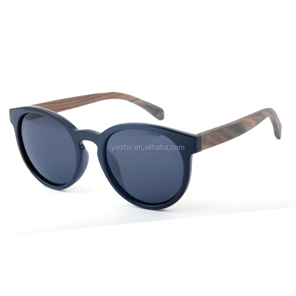 Logo engraved trending sunglasses wood temples eyewear polarized uv400 China gafas imitation