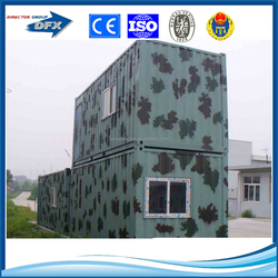 Safe durable flat pack container house for sale