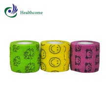 Best selling non-woven elastic medical cohesive sterile dressing bandage