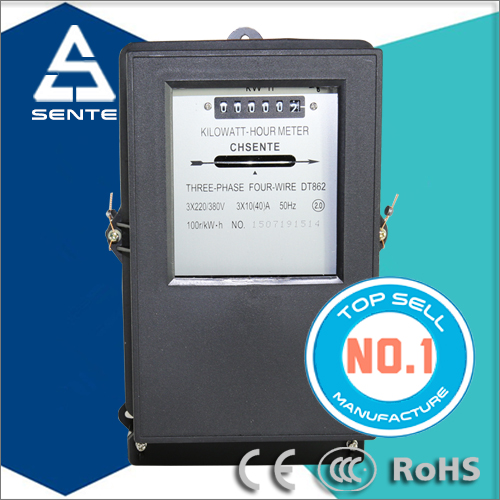 DT862 three-phase four-wire electrical smart AMI AMR PLC electricity meter