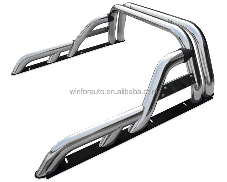 New!!!High quality 4 inch Stainless steel roll bar for 2015 hilux revo S/S 4x4 AMAROK roll bar for 2015 hilux vigo
