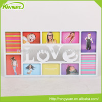 Plastic frame high quality letter decor wholesale cheap photo frame