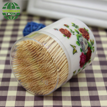High Quality Plastic Bamboo Toothpick Holder For 300PCS