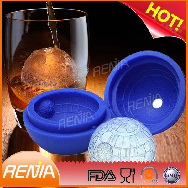 renjia wholesale ice cube tray star shaped wars wholesale