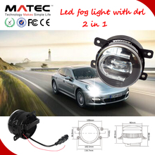 New 3.5 inch led fog light with drl flexible cob led drl vw polo led drl