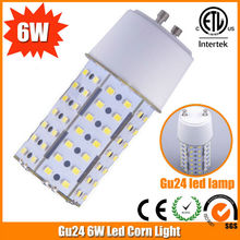 New Design High Quality E27 G24 6W Garage LED Retrofit Lighting