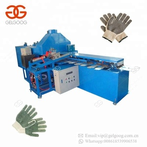 Automatic Computerized Hand Working Glove Dotting Knitting Machine Dotted PVC Gloves Making Machinery For Sale