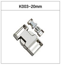 Sample Available 20mm High Quality Metal Side Release Buckle For Dog Collar / Bags