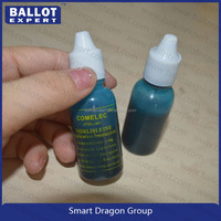 Unwashable ballot ink with silver nitrate from JYL