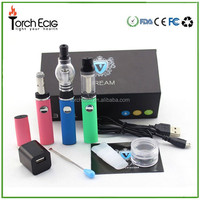 2015 Best selling in USA market wax dry herb atomizer crown 3 in 1 vapor pen