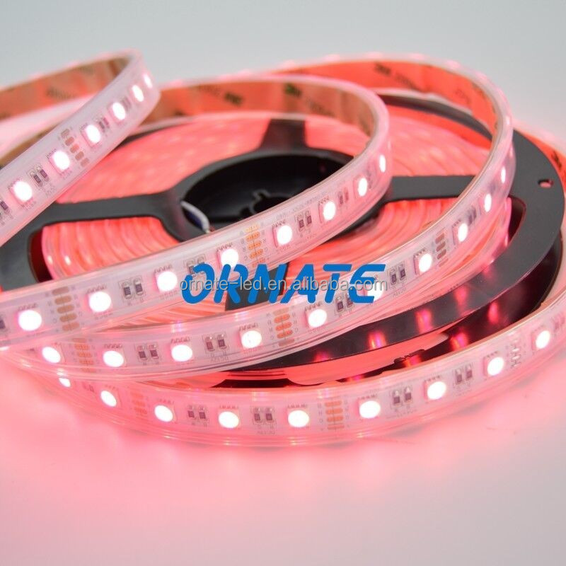 Color changeable self adhesive led strip light for window border,store, shop, commercial decoration