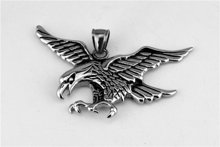 2016 Stainless steel eagle pendant casting classic logo pendant with Europe and the United States to restore ancient ways
