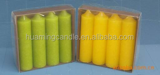 Huaming 7 day candles wholesale Exporters/7 day glass candles/big pillar candle