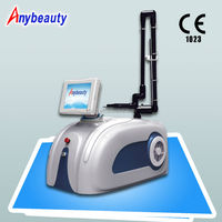 New technology co2 fractional laser anti aging wrinkle machines