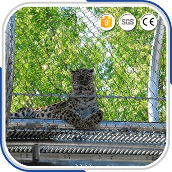 Cheap Stainless Steel Fencing Animal Enclosures Zoo Cable Netting