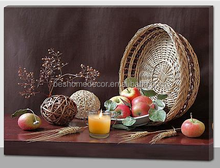 Fall decoration harvest pictures LED canvas wall frame Canvas Wall Art