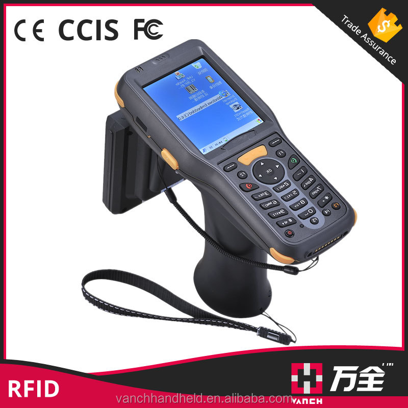 Rugged Mobile Handheld Wireless Barcode Scanner Pda With Printer Wifi 3g Fingerprint Reader