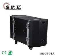 "SPE Audio, pro speakers SE-3503A professional 3-way combo PA system, 500W 15""+ 2pcs 12"" full range bluetooth speaker"