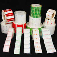 Custom Label Roll Logo Customized Stickers