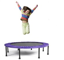 40inch folding comfortable Cheap trampoline for sale / Kids Indoor Trampoline /Jump bed